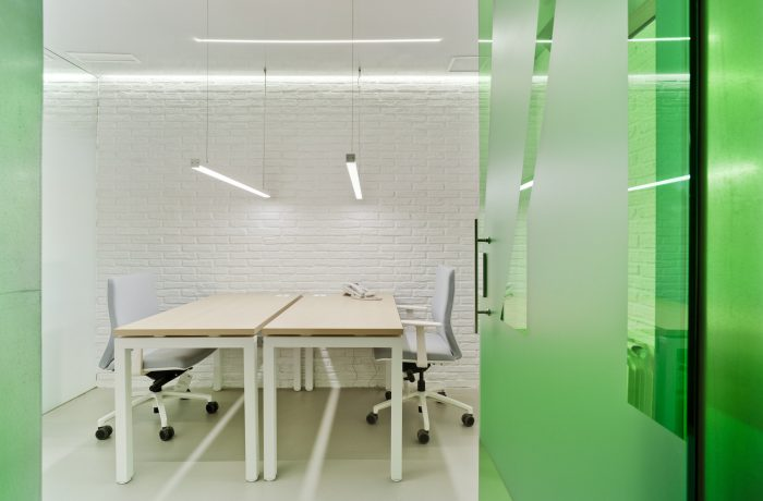 One to six workstation offices
